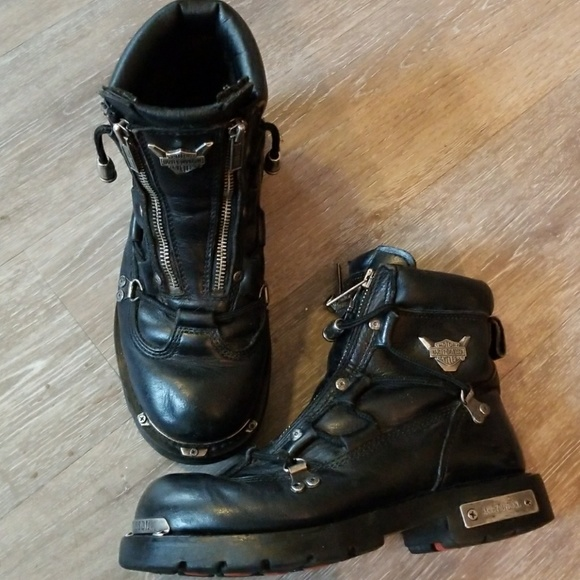 Harley Davidson Brake Light Boots Size 7
